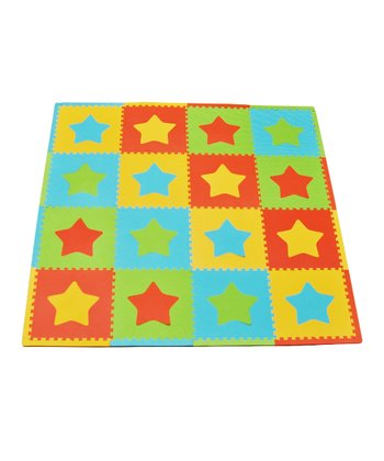 Primary Star Large Play Mat Set