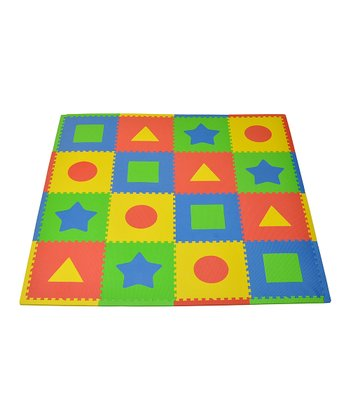Primary First Shapes Large Play Mat Set