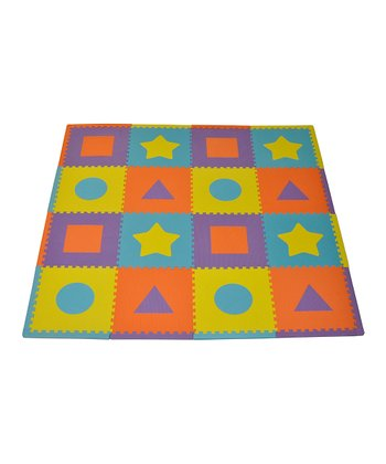 Bright First Shapes Large Play Mat Set