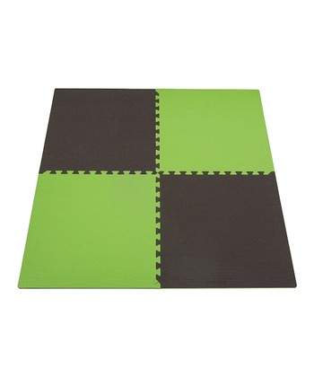 Green & Brown Play Mat Set