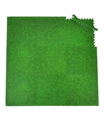 Green Grass Small Play Mat Set