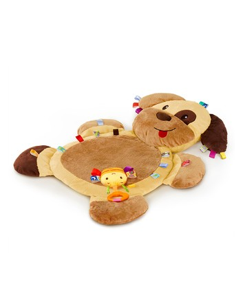 Brown Tags 'n' Snuggles Dog Play Mat