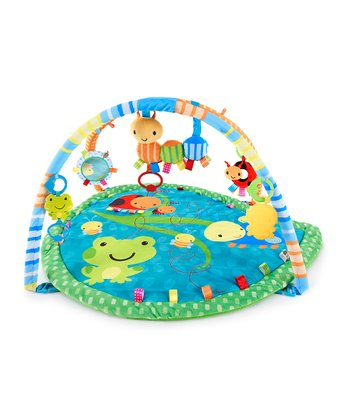 Blue Caterpillar Play Gym