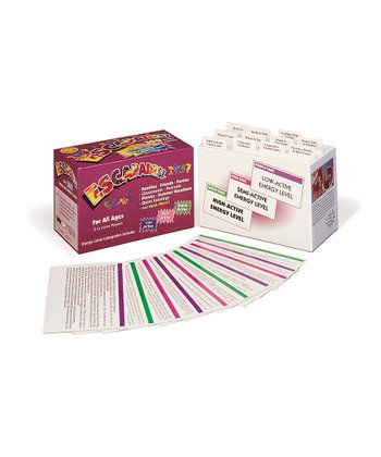 Escapades Card Game