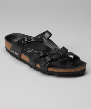 Nappa Black Aurora Slide