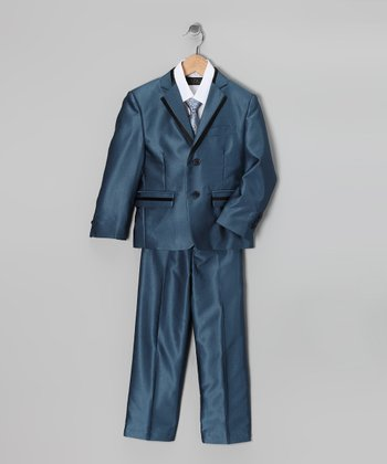 Indigo Five-Piece Suit Set - Toddler & Boys