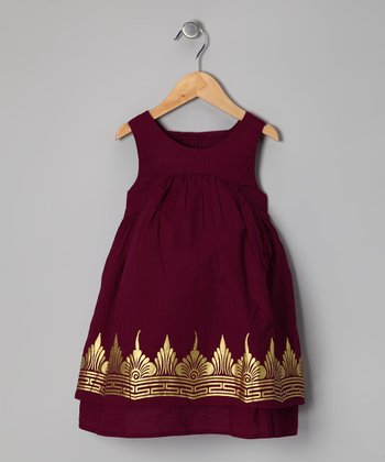 Loganberry Golden Temple Dress - Girls