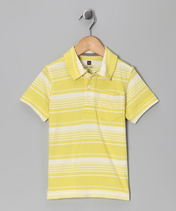 Lemongrass Kangin Stripe Polo - Infant, Toddler & Boys