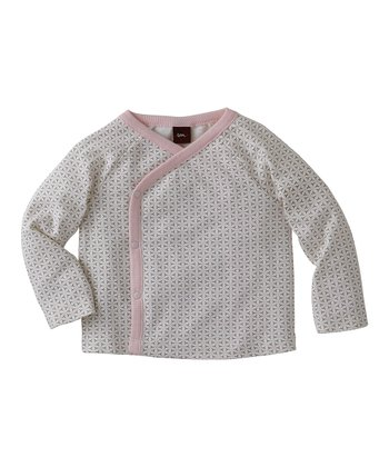 Rose Petal Lotus Wrap Top - Infant