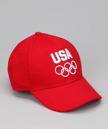 Red 'USA' Baseball Cap