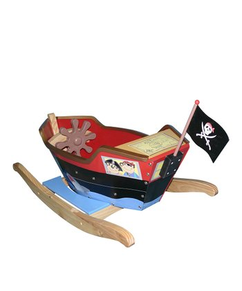 Pirate Boat Rocker Set