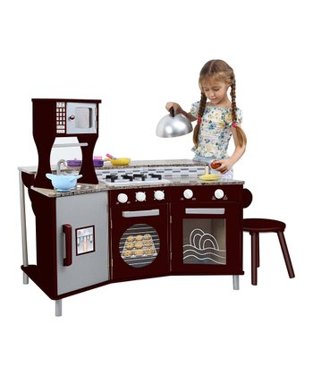 My Little Chef Faux Granite Play Kitchen Set