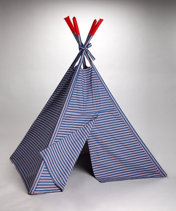 American Stripe Indoor Teepee