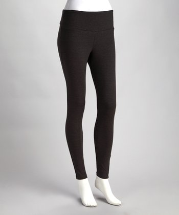 Charcoal The Essential Everyday Shaper Leggings - Women