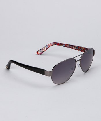 Black Pilot Sunglasses