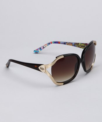 Tortoise & Gold Sunglasses