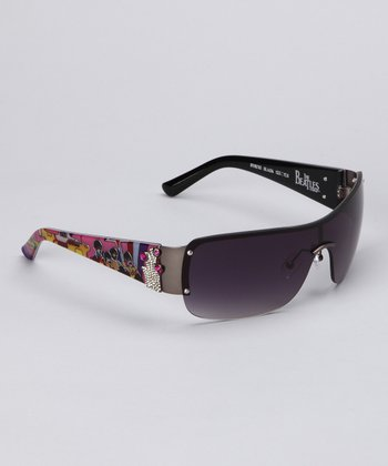 Black Frameless Sunglasses