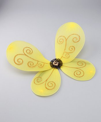 Yellow Bumblebee Wings
