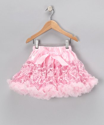 Pink Lace Pettiskirt - Toddler & Girls