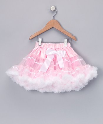 Pink Ribbon Pettiskirt - Toddler & Girls