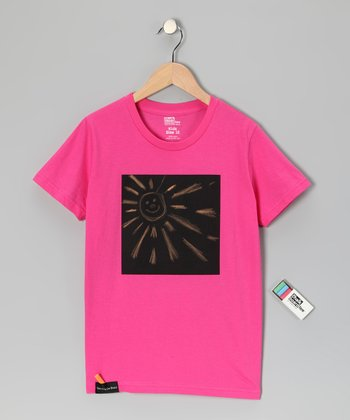 Fuchsia Box Chalkboard Tee - Toddler & Kids