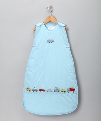 Blue Beep Beep Sleeping Sack - Infant