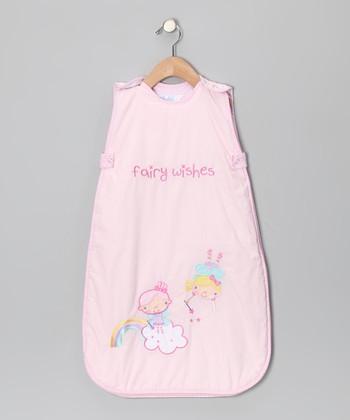 Pink Fairy Wishes Sleeping Sack