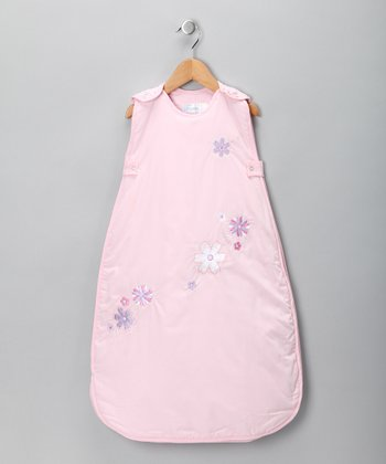 Pink Little Flower Sleeping Sack - Infant & Toddler
