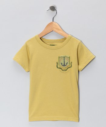 Mustard Yellow Scallywag Tee - Infant, Toddler & Boys