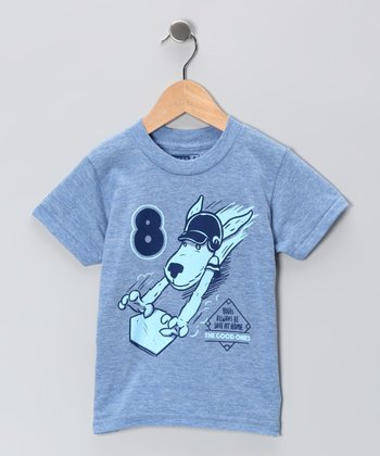 Athletic Blue 'Safe at Home' Tee - Boys