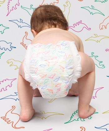Dinosaurs Premium Nontoxic Disposable Diaper Pack