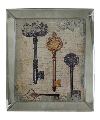 Silver Coat of Arms Key Wall Art