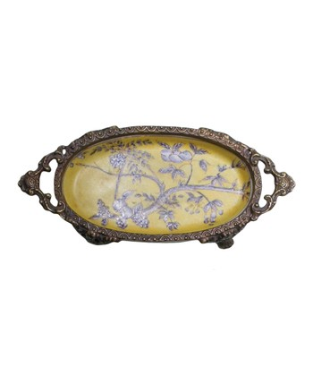 Yellow Spring Tray