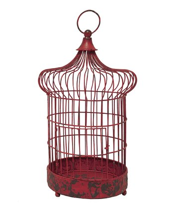 Red Gwinny Birdcage