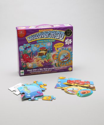 The Learning Journey Ocean 3-D Discover It Puzzle