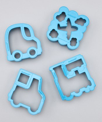Blue Vroom! Sandwich Cutter Set