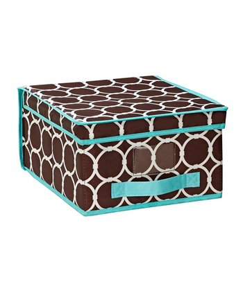 Hula Chocolate Medium Storage Box