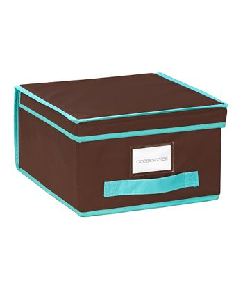 Chocolate Medium Storage Box
