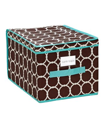 Hula Chocolate Large Storage Box