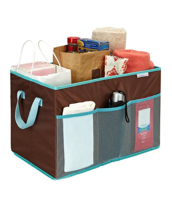 Chocolate Collapsible Trunk Organizer