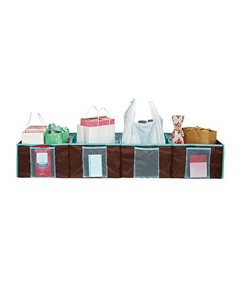 Chocolate Shopping Trunk Organizer