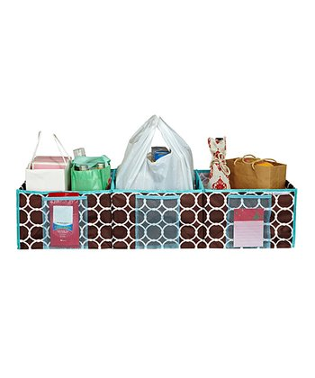 Hula Chocolate Three-Compartment Trunk Organizer