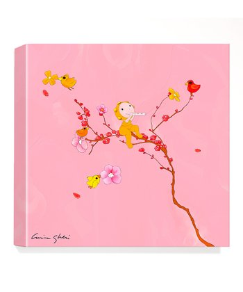 Song Of Spring Giclée Canvas Print