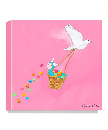 Peace & Love Giclée Canvas Print