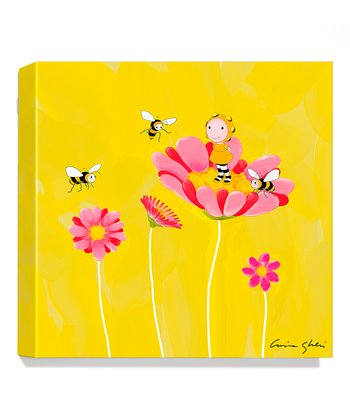 Bee Giclée Canvas Print