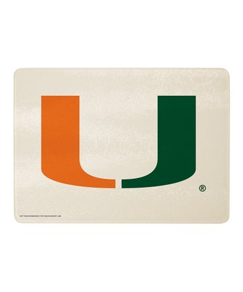 Miami Logo Cutting Board