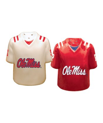 Ole Miss Salt & Pepper Shakers