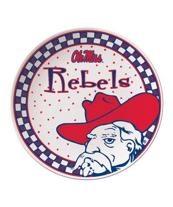Ole Miss Game Day Ceramic Plate