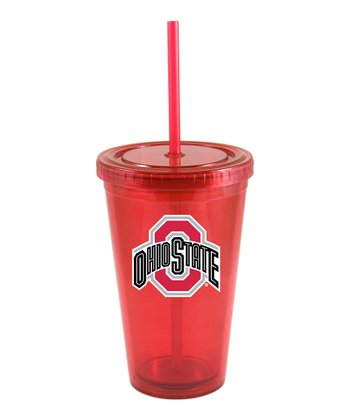 Ohio State Patio Straw Tumbler