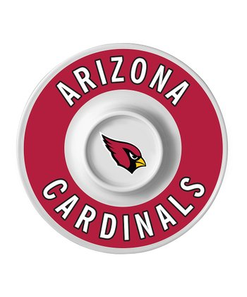 Arizona Cardinals Dip Serving Tray